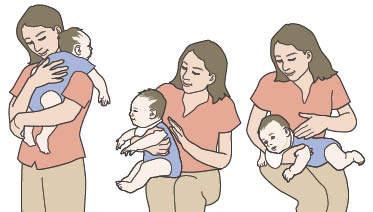 cara membuat bayi sendawa